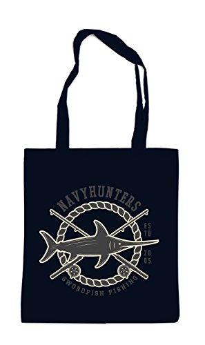 Swordfish Fishing Bag Black Certified Freak