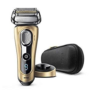 Series Shavers by Braun Series 9 9299s Electric Shaver Wet/Dry Gold Edition