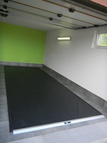GARMAT HS Garagenbodenmatte schwarz matt (Large) 555 x 225 cm%% Februar - Aktion%%