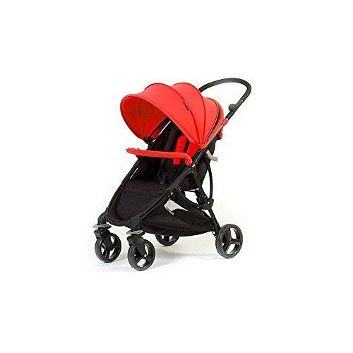 Cochecito Compact con revestimiento a elegir Baby Monsters, rojo