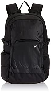 Fastrack Mean Machine Black and Blue Casual Backpack (A0335NBK01)