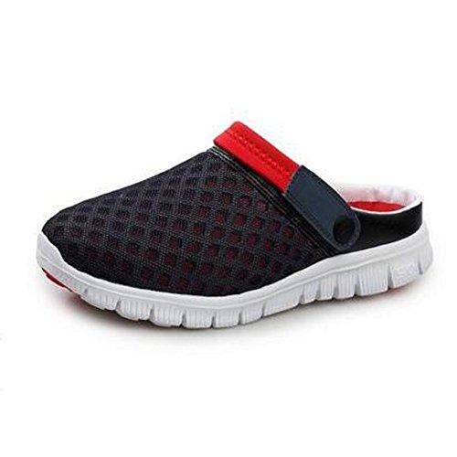 SAGUARO® Unisex respirable de la red del acoplamiento zapatillas de playa ahueca...