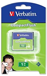 Verbatim 1 GB CompactFlash Card
