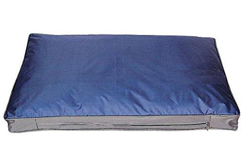 Hunde-Outdoorkissen 105 x 67 cm, blau, robustes und wasserdichtes Material