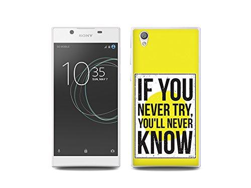 etuo Sony Xperia L1 Handyhülle Schutzhülle Etui Hülle Case Cover Tasche für Handy Fantastic Case - Versuchen und Wissen