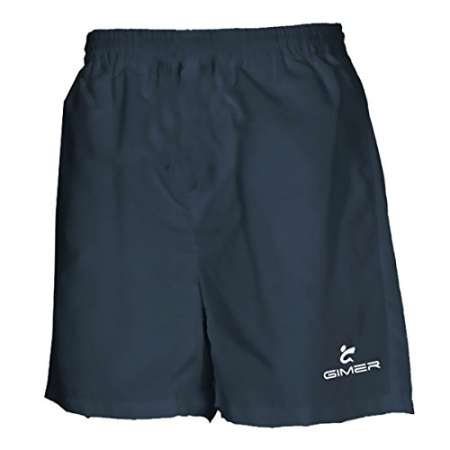 gimer 3/481 Tennis Short adulte microfibre entraînement course gym bleu marine