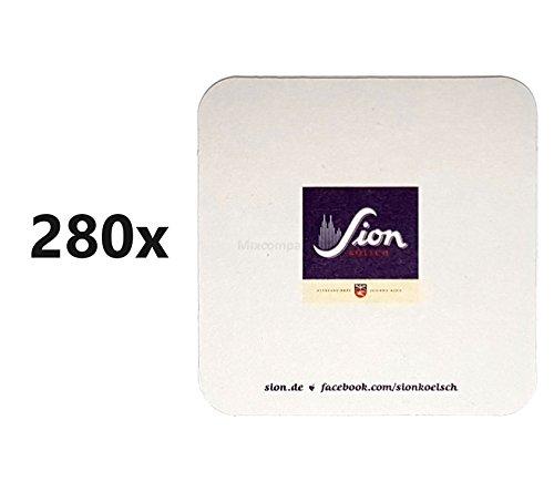 Sion Kölsch Bierdeckel/Untersetzer - 280 Stück