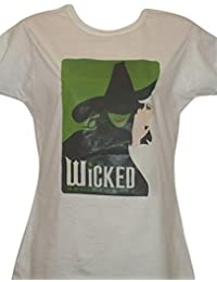 LADIES 'WICKED' MUSICAL T SHIRT (Small) Size 6-8