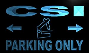ADV PRO m257-b CSI Parking Only Neon Light Sign