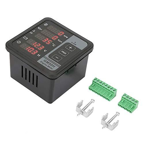DC 8-36V Generator Monitor Motor Digital Meter Controller Panel für Geschwindigkeit/Spannung/Temperatur Control Panel Generator Zubehör Panel Alarm-control-panel