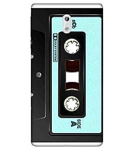 For Nokia 3 nice cassette ( cassette pattern, black cassette, music, radio cassette, nice cassette ) Printed Designer Back Case Cover By Living Fill