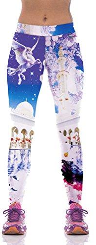 Belsen - Legging - Femme multicolore tigre M Pegasus