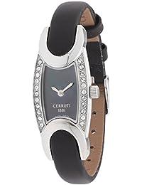 Cerruti Mujer Reloj De Pulsera Negro cro015b222 a