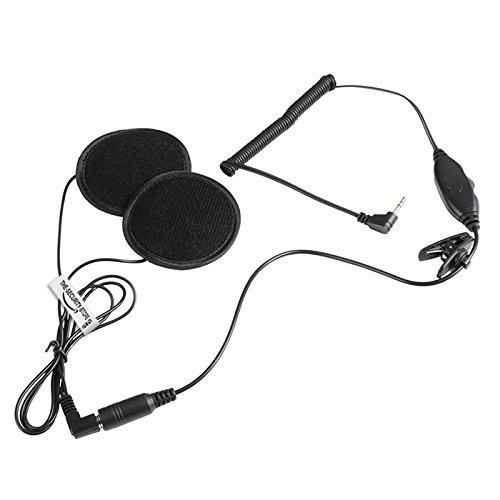 Hören Nur Headset für Motorrad-Helm für Radio ICOM