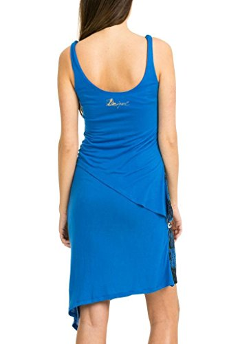 Desigual - Robe - Femme Bleu Bleu Bleu