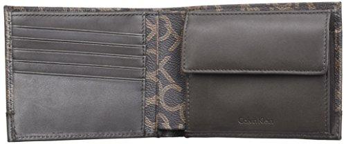 design di qualità 552b7 5db55 Calvin Klein Greg Mono 5cc Coin, Portafoglio Uomo, 3×9.5 ...