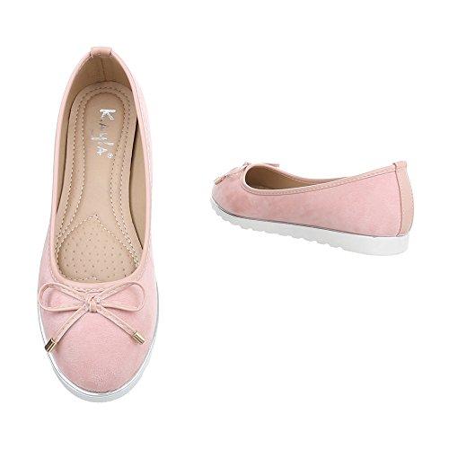 Pantofola Pantofola Slitta Ital-design Mocassino Pantofola Rosa Y18050