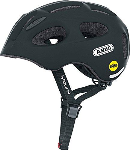 Abus Youn-I MIPS Fahrradhelm, Velvet Black, 52-57 cm