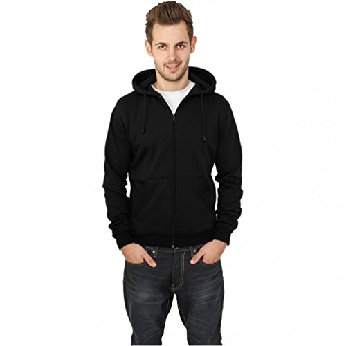 urban classics RELAXED ZIP HOODY Turquoise