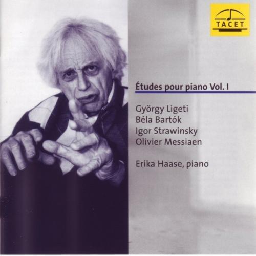 Etudes Vol. 1 (Strawinsky, Bartok, Messiaen und Ligeti)