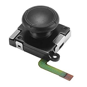 GZW-SHOP Analoger Sensor Joystick Ersatz Joy Con ersatzteile Switch Links rechts L / R Joy Con Rocker Controller Ersatzteile (1 Stück+Werkzeug)