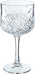 Idea Regalo - Pasabahce Set 4 Calici Timeless Gin&Tonic 55 Arredo Tavola, 500 milliliters, Vetro, Trasparente