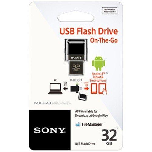 Sony USM32SA1/B 32 GB USB Flash Drive (Black)
