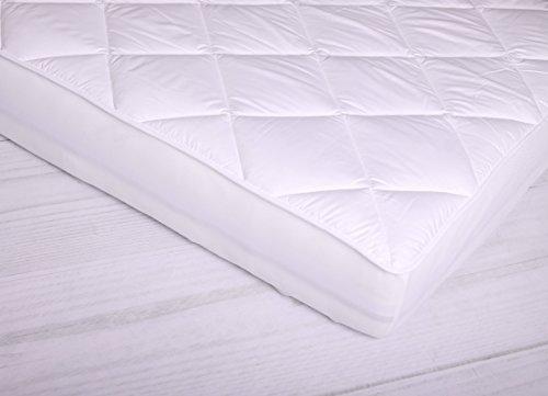 Spann - Unterbett MOON LUXUS für Matratzen / Wasserbetten Matratzenauflage -90x220