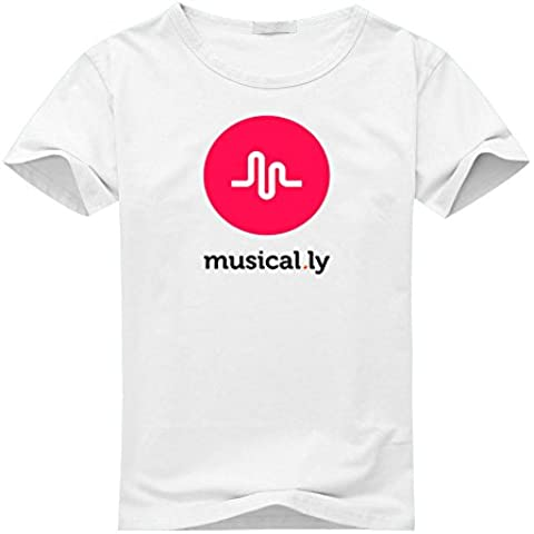 Musical.ly Fan Logo For Boys Girls T-shirt Tee Outlet