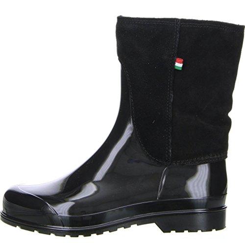 M&G Damen Winterstiefel Snowboots schwarz Schwarz
