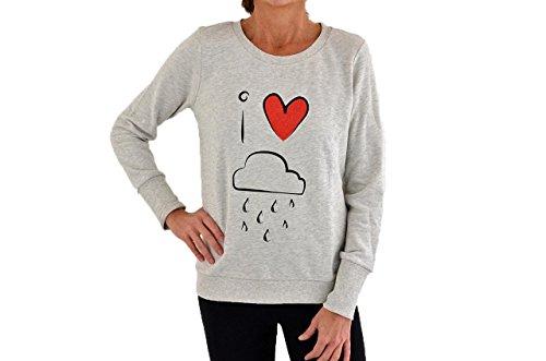 Only Rain Felpe Nuovo Tg S Abbigliamento Donna