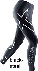 2XU Women Elite Compression Tights Kompressionshose Damen, Farben:Black;Größen:S