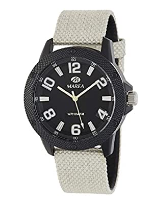 Reloj Marea Analógico Hombre B35291/2 Correa Nylon Beige y Caja Negra