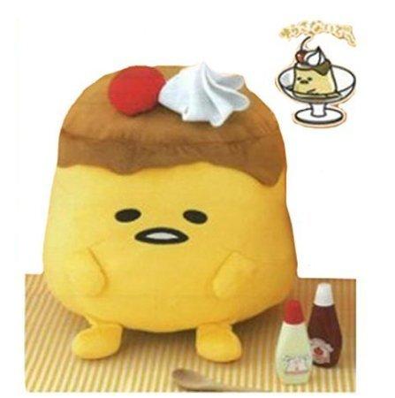 Preisvergleich Produktbild Shell ride BIG stuffed Gudetama pudding & eggs From Japan NEW