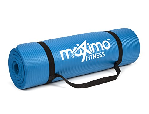 Maximo-Exercise-Mat-NBR-Fitness-Mat-Multi-Purpose-183-x-60-x-12-centimetres-Yoga-Pilates-Sit-Ups-Stretching-Home-Gym-Perfect-for-Men-and-Women
