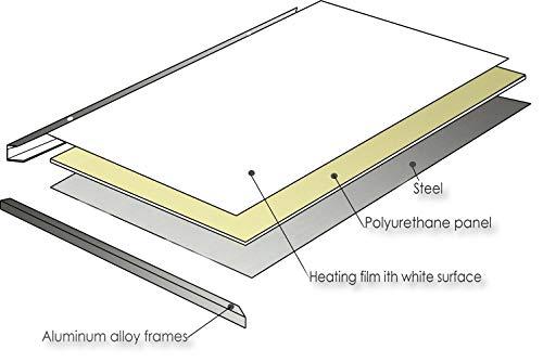 ColdFighting Geringer Rabatt 1000 * 1200mm 1200W Bild Fernes Infrarot -Panel Elektrische kaufen  Bild 1*