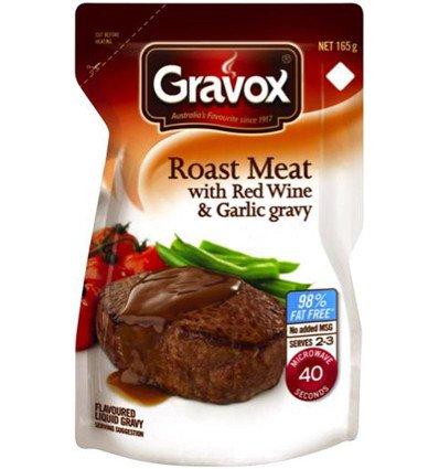 Gravox Braten, Rotwein und Knoblauch Flüssige Soße 165g