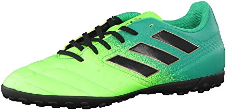 Adidas Ace 17.4 TF, para los Zapatos de Entrenamiento de Fútbol para Hombre, Verde (Versol/Negbas/Verbas), 40 EU