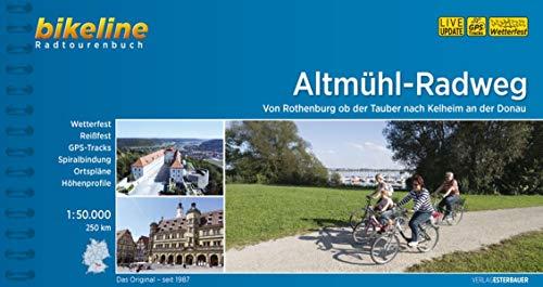 Altmuehl Radweg Von Rothenburg Nach Kelheim 2018