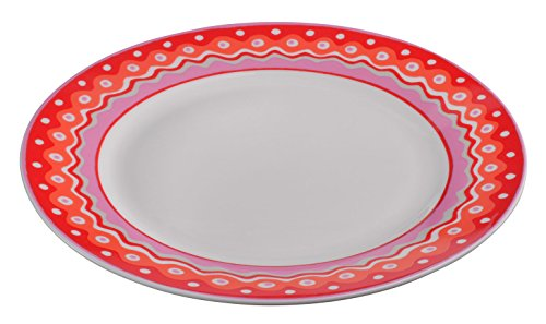 oilily-19-cm-cake-plate-red