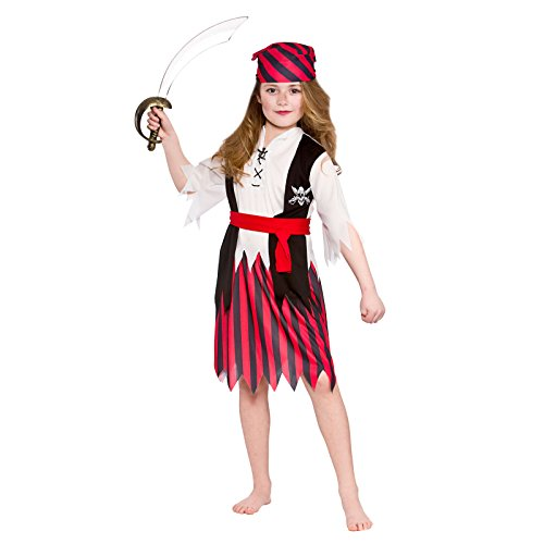 Girls Shipwreck Pirate Fancy Dress Up Party