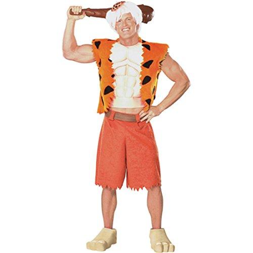 Bam Bam Kostüm Flintstones XL 56/58 Feuerstein Flintstones Steinzeit Outfit Verkleidung Herren (Bam Kostüme Bam Erwachsene)