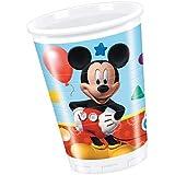 Perona - Pack 8 vasos 200 ml, Mickey Mouse ( 50864)