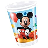Perona - Pack 8 vasos 200 ml, Mickey Mouse ( 50864)