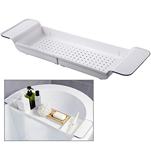 Badewannenablage Abtropfgestell Badewannenhalter Badewannenregal Badewannenhalterung Caddy Badewannenbrett Badewannenauflage