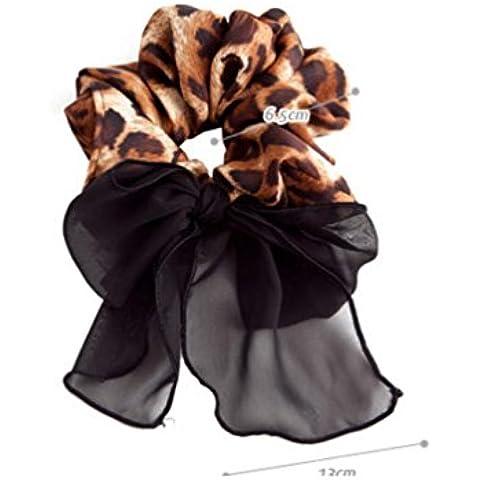 XYXY Cuerda del anillo de Gasa mariposa leopardo