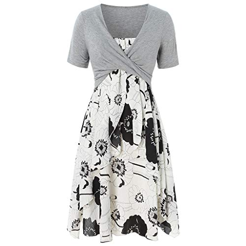 cce336441 Hotsell〔☀ㄥ☀〕Dresses for Wedding Guest Women~Ladies Sleeveless Vintage Floral