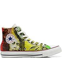 Converse Customized - zapatos personalizados (Producto Artesano) con Bob Marley