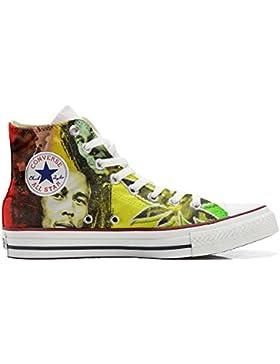 Converse All Star zapatos personalizadas (Producto Artesano) con Bob Marley