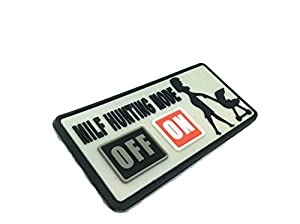 MILF Hunting Mode ON Airsoft Velcro PVC Patch